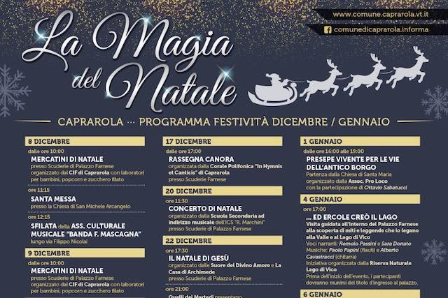 """Tradizione, musica e teatro per accendere """"La Magia del Natale"""""""