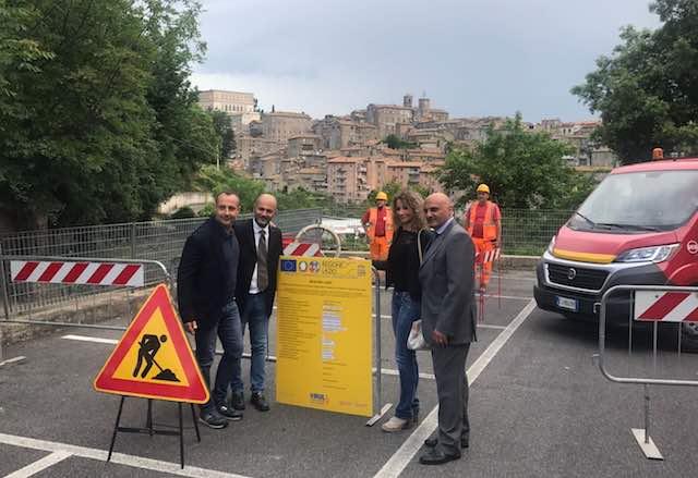 Caprarola, primo paese della Provincia di Viterbo con la fibra ottica
