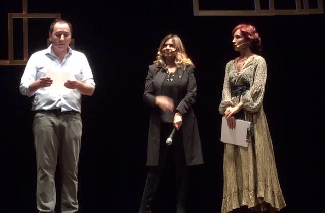 "Debora Caprioglio al Teatro Boni con ""Callas d'incanto"""