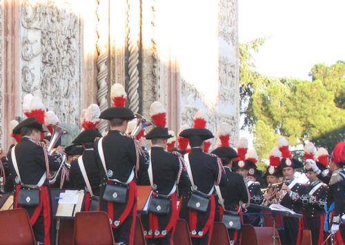 Alle 19 in Piazza Duomo, concerto della Banda dei Carabinieri