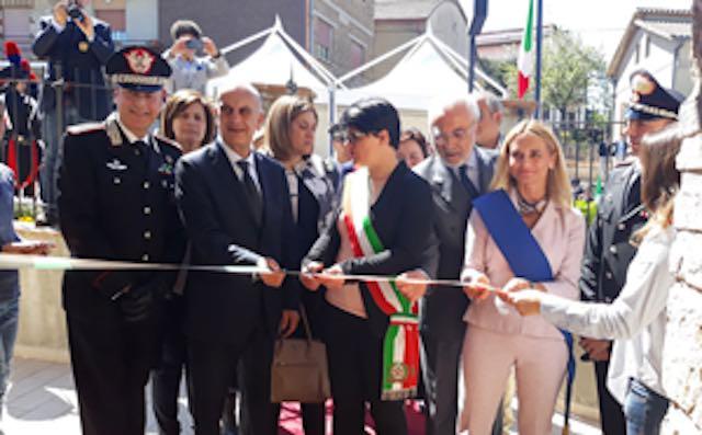 Grande festa per la nuova sede della Caserma dei Carabinieri
