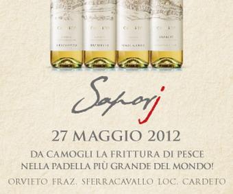 """Domenica 27 maggio """"Cantine aperte 2012"""". Per Saporj Cardèto presenta """"Il viaggio della padella più grande del mondo"""""""