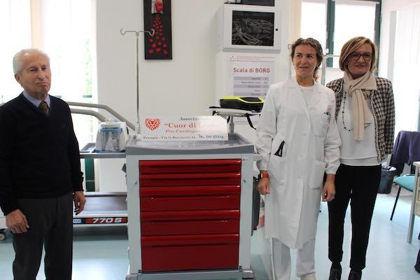 Quattro nuovi strumenti per il servizio di Cardiologia Riabilitativa dell'Usl Umbria 1