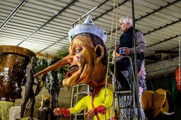 Carnevale 2020, tutto pronto per la prima uscita dei carri allegorici