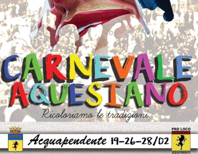 Al via il Carnevale Aquesiano 2017