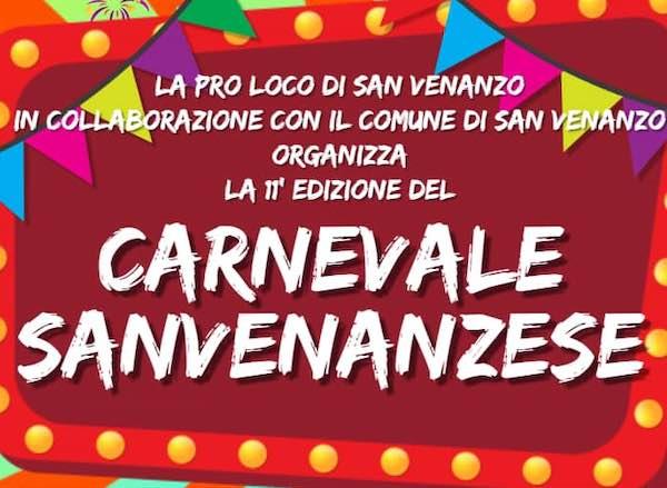 """Carnevale Sanvenanzese"". Raduno in Piazza Alighieri e sfilata"