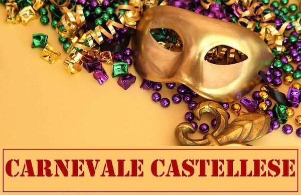 Festa in Piazza IV Novembre per il Carnevale Castellese