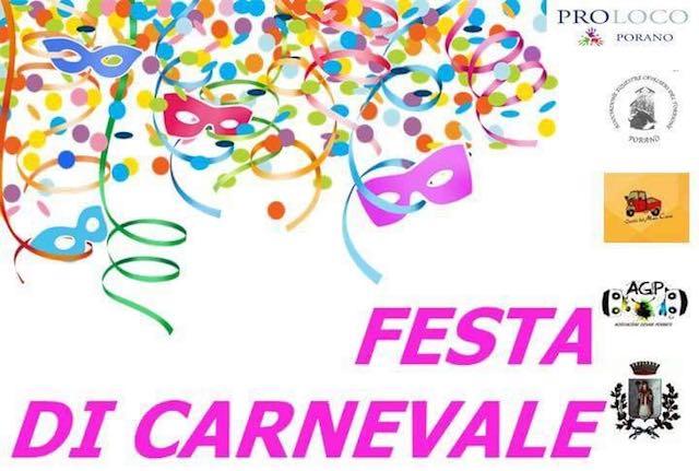 """Sfilata in maschera e grande """"Festa di Carnevale"""" alla Sala Malerba"""
