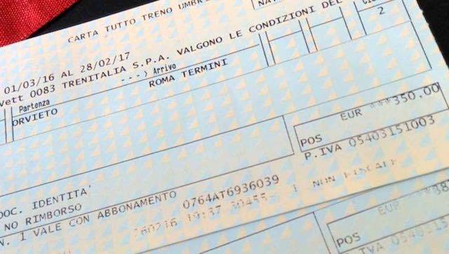 Carta Tutto Treno, raggiunto l'accordo con Comitati pendolari e Federconsumatori