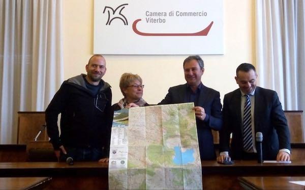 Turismo lento, presentata la prima Carta Escursionistica ai Sentieri dei Cimini