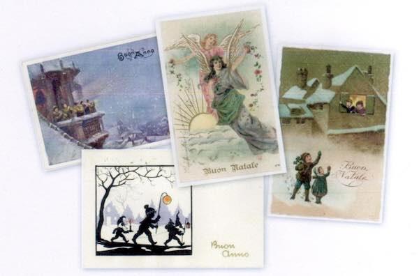 Cartoline natalizie d'epoca in mostra per la Giornata della Filatelia