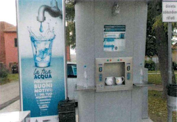 Atti vandalici alla Casa dell'Acqua, erogazione idrica sospesa
