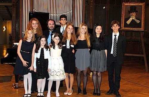 Gli allievi dei corsi estivi ospiti a Milano della stagione concertistica di Casa Verdi