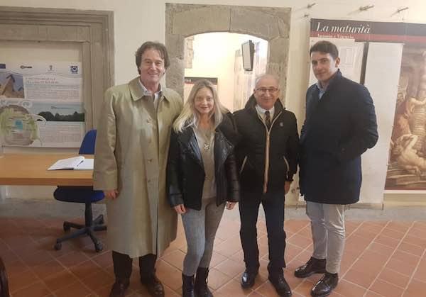 """""""Casa Civita"""" al lavoro sulla Rocca dei Papi. """"Insieme per lo sviluppo del territorio"""""""