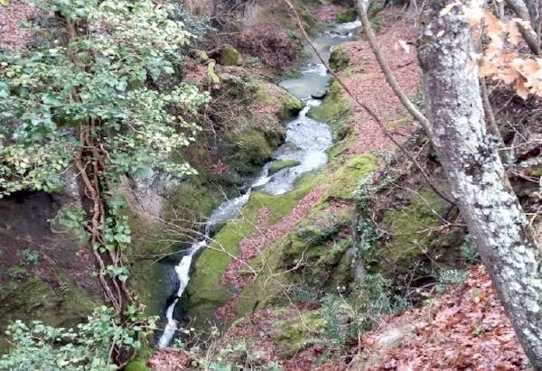 Alla Cascata di Romealla con l'Asds Majorana. Prima escursione del 2019
