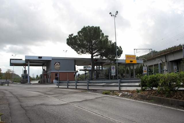 Lavori sull'Autostrada del Sole, chiuso per due notti il casello di Orvieto
