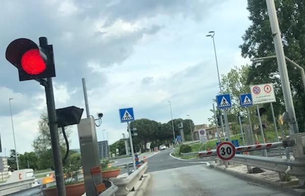 Lavori sull'A1, chiusure notturne dell'uscita della stazione di Fabro