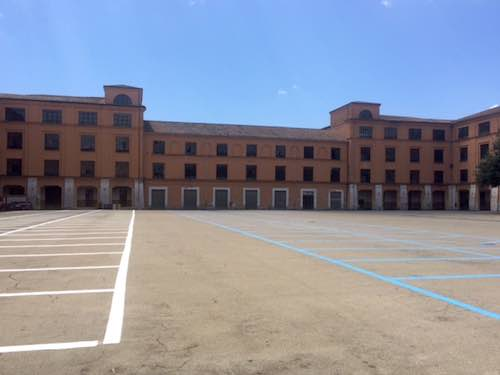 Parcheggio gratuito in Piazza d'Armi, Campo della Fiera e Via Roma