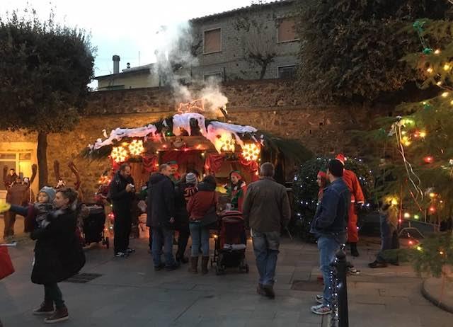 """Castel Giorgio accende """"Il Villaggio del Natale"""""""