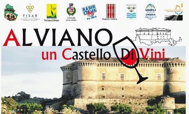 """""""Alviano, un castello di vini"""" tra degustazioni, libri e musica folk"""