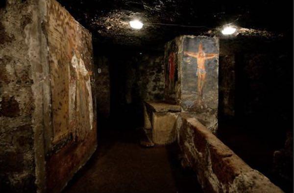 Open Day alla Catacomba di Sant'Eutizio. Il primo, dopo la chiusura forzata