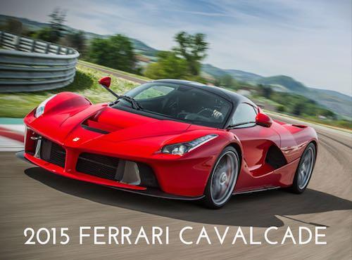 """Cento rosse invadono la città. """"Ferrari Cavalcade 2015"""" transita per Orvieto"""