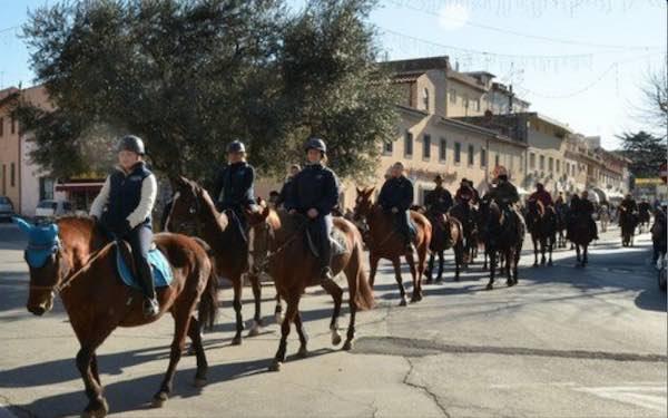 Doppio appuntamento a cavallo per festeggiare Sant'Antonio Abate