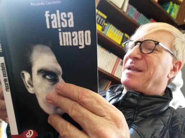 """Riccardo Cecchelin presenta """"Falsa Imago"""". Un caffè con l'assassino"""