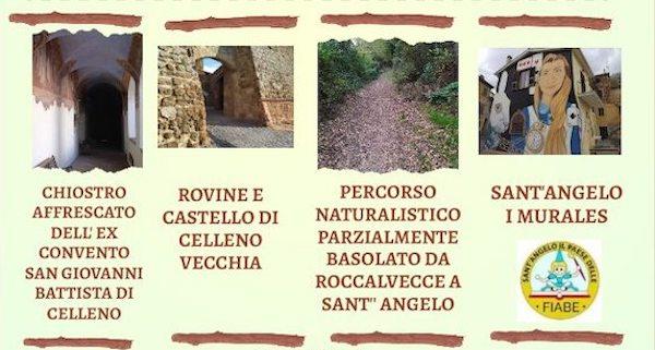 Passeggiando lungo il Sentiero delle Fiabe, tra Celleno e Sant'Angelo