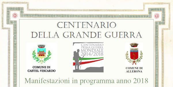 Castel Viscardo e frazioni commemorano il centenario della Grande Guerra