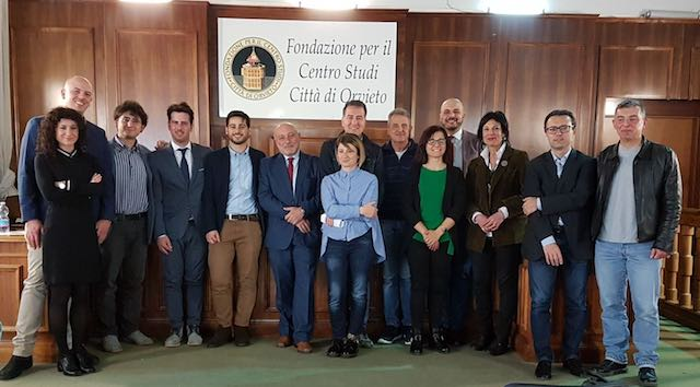 """CdA e Consiglio Scientifico al lavoro per lo sviluppo del Centro Studi """"Città di Orvieto"""""""