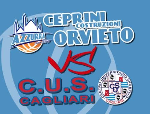 Azzurra anticipa la gara con CUS Cagliari su ruchiesta delle isolane