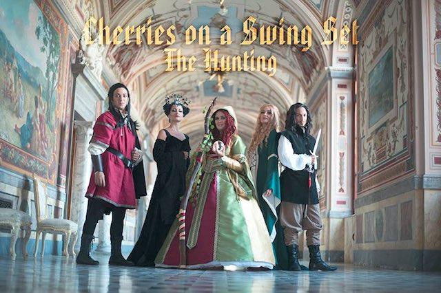 """Il Castello di Torre Alfina diventa fiaba per """"The Hunting. Il Gioco dell'Amore"""" dei Cherries"""