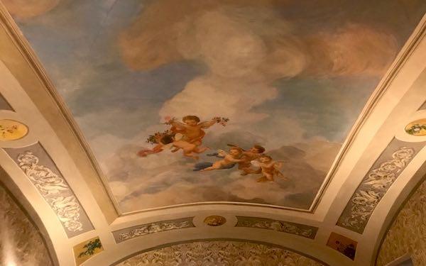 A Villa Faina si inaugura il restauro conservativo delle pitture storiche