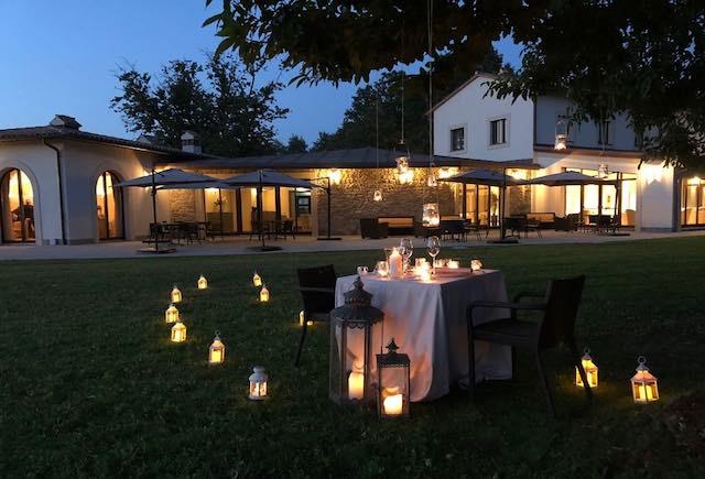 Mezz'estate a Borgo La Chiaracia. A lume di candela, sull'Altopiano dell'Alfina