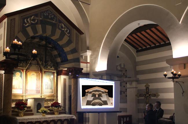 Nuova luce sulla Chiesa di S.Maria della Stella. Presentato il restauro a Rocca Ripesena
