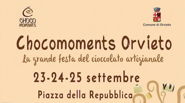 """Con """"ChocoMoments Orvieto"""", scatta l'ora dei golosi. Tre giorni da leccarsi i baffi"""
