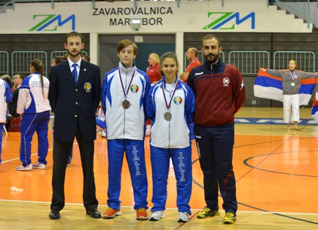 Karate, due atleti orvietani al Campionato Mondiale I.K.U. di Maribor (Slovenia)