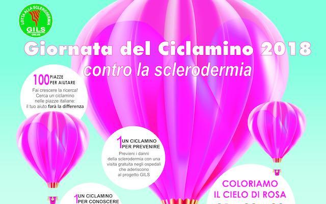 """Gils in piazza per le """"Giornate del Ciclamino"""". Un fiore contro la sclerodermia"""