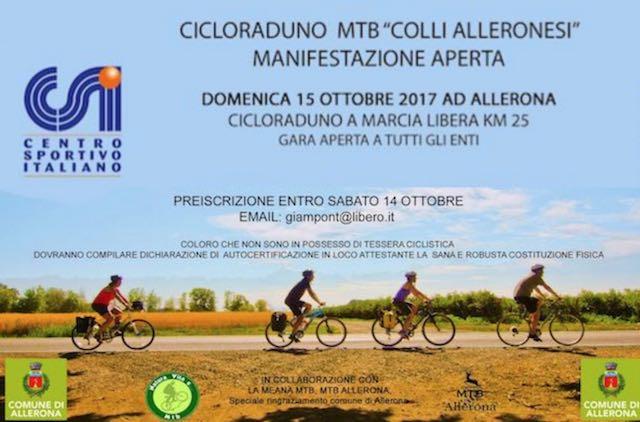 """Cicloraduno MTB """"Colli Alleronesi"""", pedalando nei boschi della Selva di Meana"""