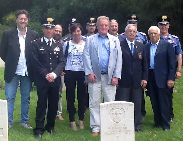 Glynn Bull sui luoghi della memoria, grazie alla Delegazione dell'IPA