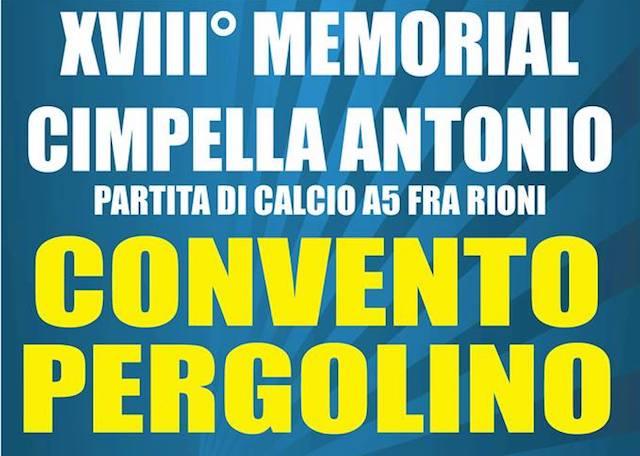 Sfida tra rioni per il 14esimo Memorial Cimpella