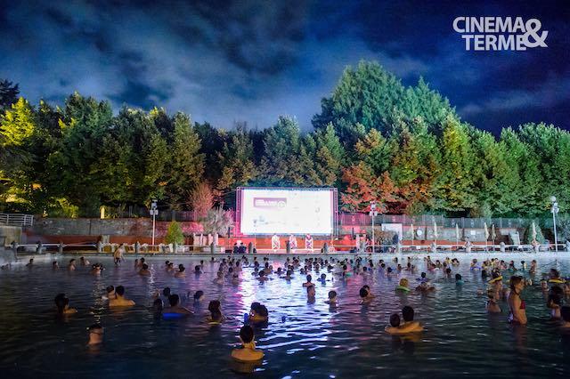 """""""Cinema&Terme"""" fa il bis. Pellicole e incontri, coccolati dalla piscina monumentale"""