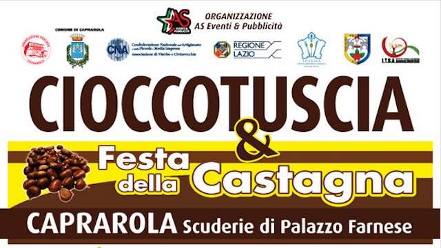 CioccoTuscia, due weekend di dolci sapori nelle Scuderie di Palazzo Farnese