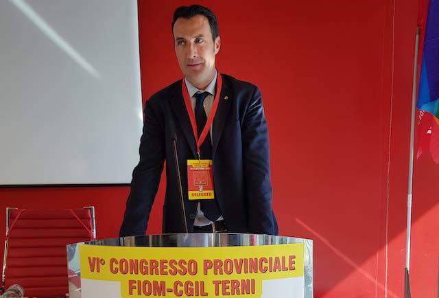 Fiom Cgil Terni: Cipolla confermato segretario generale
