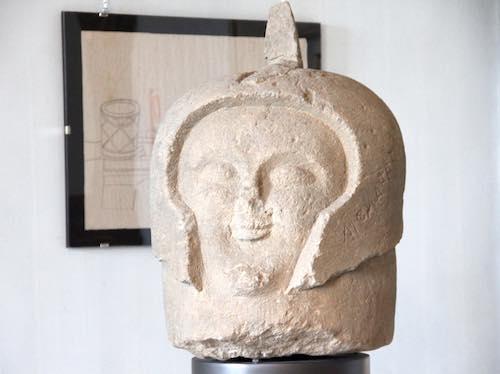 """La testa di guerriero esposta al Faina protagonista della puntata di """"Museo Nazionale"""" su Radio3"""