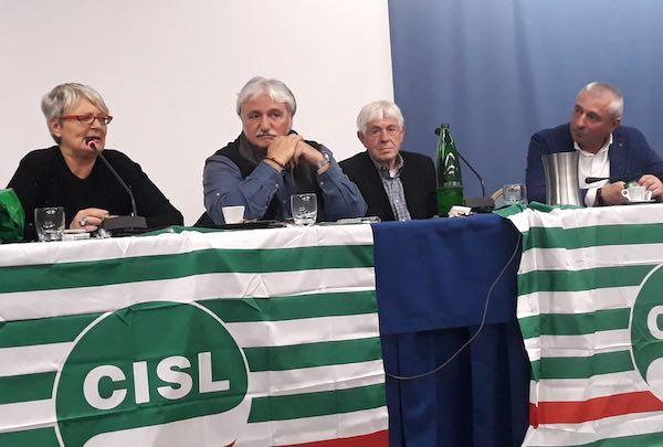 Angelo Manzotti alla guida della Cisl Umbria