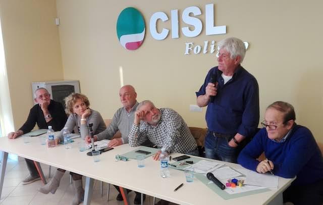A Foligno i pensionati della Cisl puntano sul territorio e sulla formazione