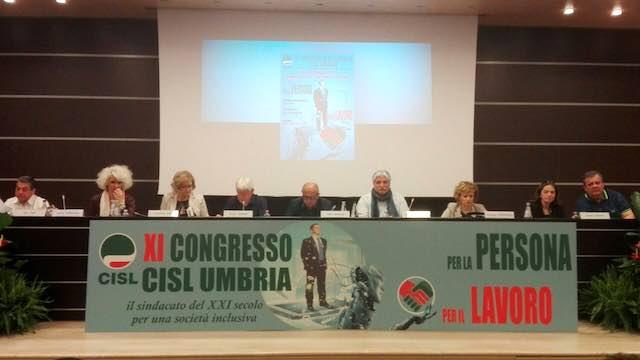 Ulderico Sbarra riconfermato alla guida della Cisl Umbria