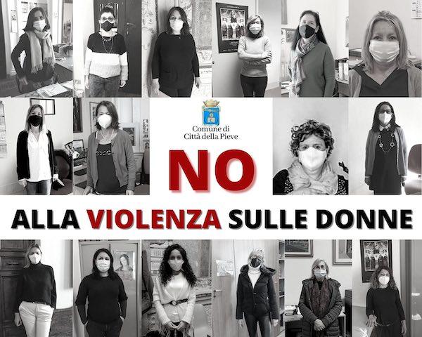 """""""No alla violenza sulle donne, no ad ogni forma di sopruso e discriminazione"""""""